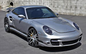 Porsche 997 Twin Turbo Body Kit Update Conversion For 996 Turbo 996 Carrera