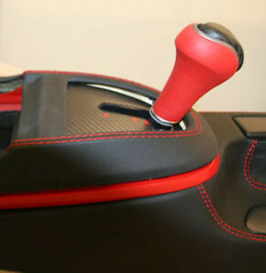 Porsche 997 996 Carbon Fiber Gloss Or Mat Shift Knob W Any Color Leather