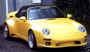 Porsche Bad Boy S Illuzion Wide Body Kit For 993 Carera From 1990 1998 Wow