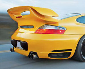 Porsche Gemballa Style Avalanche Gtr Trunk Spoiler Wing For 996 Turbo 01 To 05