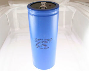 1x 12000uf 450v Large Can Electrolytic Capacitor 12000mfd 450 Volts Dc 12 000 Uf
