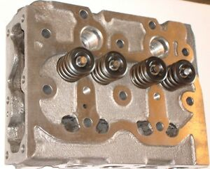Kubota L175 Cylinder Head Complete With Valves For Z750 Engine New