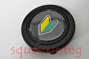 Beginner Driver Badge Wakaba Horn Button Honda For Aftermarket Steering Wheel