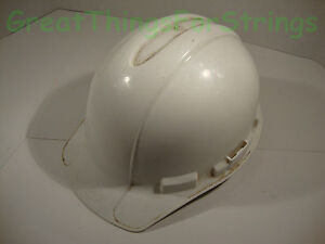 Ao Safety Construction Helmet Hard Hat Protective Gear Xlr8 White Size 6 5 8