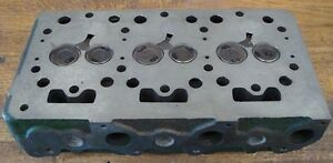 New Kubota B6100 Tractor Cylinder Head Complete W Valves