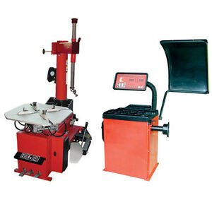 Semi automatic Tire Changer And Wheel Balancer free Shipping