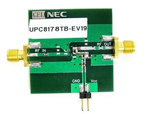 Nec Cel Upc8178tb ev19 Silicon Mmic Amplifier Evaluation Fixture New