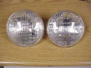 1950s 1960s 70 Hemi Cuda Max Wedge Challenger Nos Mopar Ge Sealed Beam 300 Fury