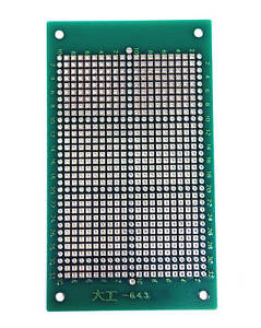 20pc Fr4 Pcb Board Double Side 643 Kt1063d 105x60x1 6mm Pitch 2 54mm Taiwan