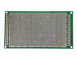20pc Fr4 Pcb Board Double Side Kt 1058d Size 109x60x1 6mm Pitch 2 0mm Taiwan