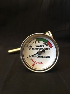 For Allis Chalmers Water Temp Gauge B C Ca Wc Wd Wd45 Allis chalmers