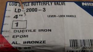 Nibco Ld 2000 3 4 Inch Butterfly Valve New W 30 Day Warrantee