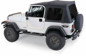 Complete Soft Top W o Doors Fits 1987 1995 Jeep Wrangler Yj
