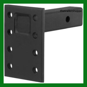 Trailer Hitch 2 Receiver 7 Plate 8 12 Shank Pintle Mount 3 Position