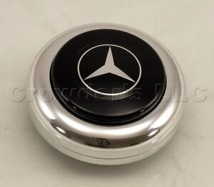 Nardi Steering Wheel Horn Button Center Kit For Anni And Classic Mercedes Logo