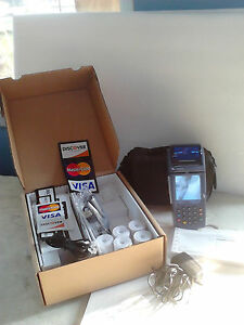 Credit Card Terminal Processor With All Accessories Never Used