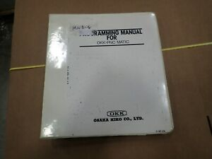 Okk pnc Matic Cnc Programming Manual c pr pn _ Vmc Hmc