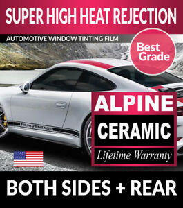Super High Heat Rejection Precut Tint Front Doors For Chevy Trucks