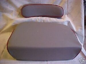 Massey Ferguson Seat And Backrest For F40 Mf30 Ind Mf30 To30 Mf31 To35