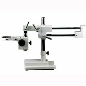Amscope Daw Heavy Duty Double arm Boom Stand For Microscope