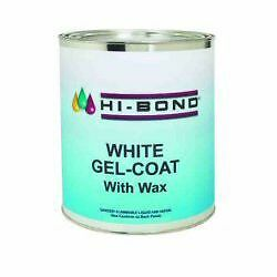 Evercoat Hi Bond White Gelcoat With Wax 1 Gallon Boat Fiberglass Repair 701500