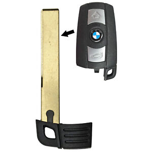 Smart Prox Emergency Remote Key Keyless Replacement Uncut Blade Blank For Bmw