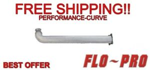 Fits 07 10 Chevrolet Gmc Duramax 4 Stainless Cat Delete Pipe Flo pro 40810