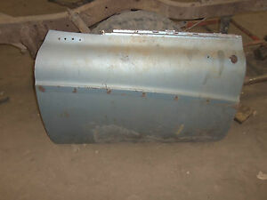1958 58 Buick Super Roadmaster Limited Left Front Drivers Side Front Door Shell