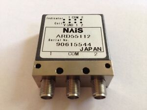 Nais Ard55112 1pc Coaxial Switches Switch Coax Latch Sp 26 5ghz 12v