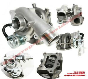 Turbo Charger K0422 882 Fits 07 11 Mazda 3 2 3l Mazdaspeed Hatchback 4d