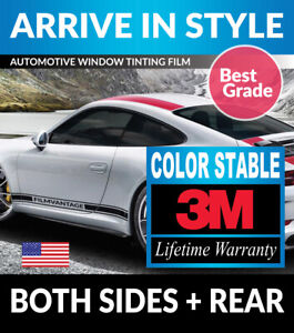 Precut Window Tint W 3m Color Stable For Pontiac Fiero 84 88