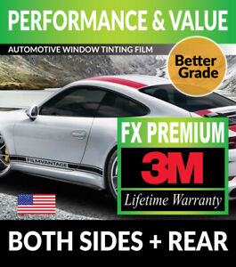 Precut Window Tint W 3m Fx premium For Pontiac Fiero 84 88