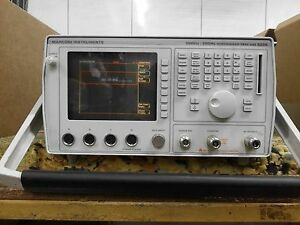 Marconi 6200 10mhz 20ghz Microwave Test Set