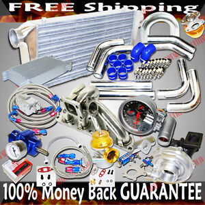 Turbo Kits T3 t4 Turbo For Mitsubishi Evo 8 eclipse dsm 1g 2g 4g63 Engine Only