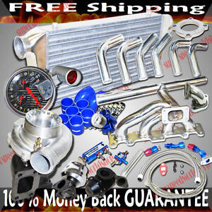 Ss Manifold Turbo Kits Gt35 Turbo For 2003 2005 Dodge Neon Srt 4 2 4l Dohc Only