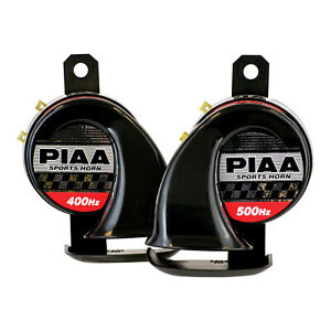 Piaa 85110 Loud Sports Horn Kit set Of Two 400hz 500hz