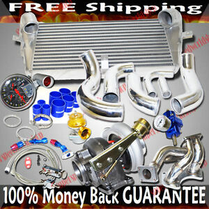 Hx40w T4 Turbo Kits For 93 95 Mazda Rx 7 Base Touring Coupe 2d 1 3l Turbocharged