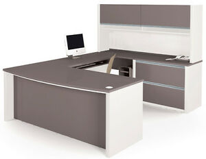 Connexion Executive L Shaped Desk Set 4 Bestar