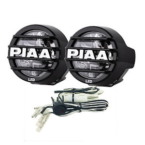Piaa 05370 Led Lp530 Led Fog Kit W Two White Fog Lights harness fuse switch