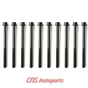 Cylinder Head Bolt Set 01 09 Ford Mazda Mercury 2 0l 2 3l Dohc W Turbo Duratec