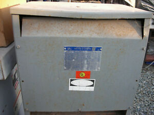 Square D 30 Kva Step Down Transformer