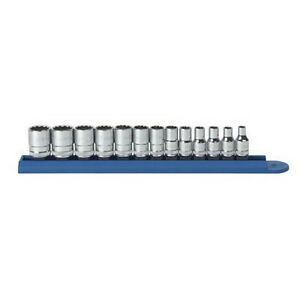 Gearwrench 80306 13 Piece 1 4 Drive 12 Point Metric Socket Set