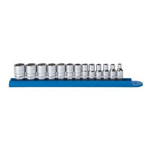 Gearwrench 80302d 13 Piece 1 4 Drive 6 Point Metric Socket Set
