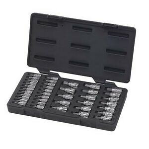 Gearwrench 890040 39 Piece Bit Socket Set 1 4 13mm