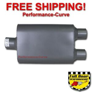 2 Chamber Performance Muffler Ceramic Full Boar 2 5 2 25 Fb5422