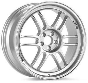 Enkei Rpf1 17x9 5x114 3 35mm Offset 73mm Bore Silver Wheels 379 790 6535sp 4