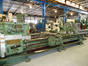 40 x144 cc Axelson Engine Lathe Taper Raised