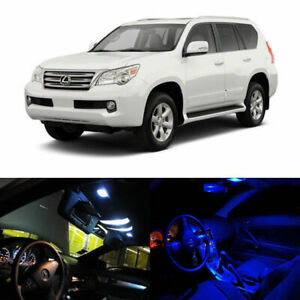 14 light Led Full Interior Lights Package Deal For 2010 And Up Lexus Gx460