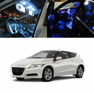 7 light Smd Full Led Interior Lights Package Deal For 2010 2012 Honda Cr z Crz