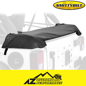 Smittybilt Soft Top Storage Boot Black Denim For 1997 2006 Jeep Wrangler Tj Lj